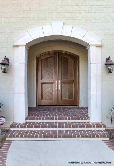Manchester Solid Panel Double Arched Top Door Double Front Doors Arched Front Door Doors