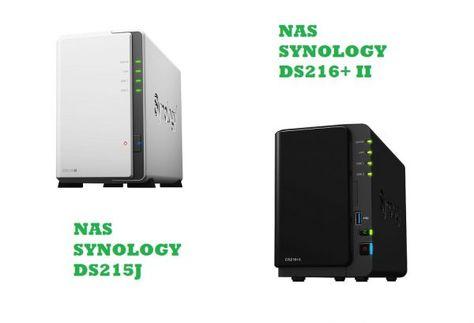 NAS Synology DS216J à 162 et DS216 II à 315   Bonjour  Bon plan sur ces deux NAS Synology qui sont disponibles sur Amazon.  NAS Synology DS216J à 162  Prévoir 5.60 de frais de port  Spécifications :  Un stockage Cloud personnel et polyvalent  2 baies pour HDD/SSD 3.5 ou 2.5 SATA  Jusquà 16To de capacité de stockage  2 ports USB 3.0 (5Gb/s)  1x réseau Gigabit LAN  CPU double cœur avec moteur de chiffrement matériel  Plus de 11275 Mo/s en lecture Jusquà 976 Mo/s en écriture  Voyants DEL avant…