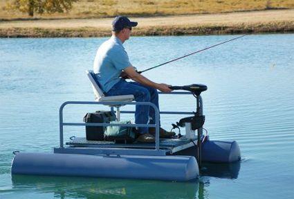 Brand New 6 Ft One Person Mini Pontoon Fishing Boat Mini Pontoon Boats Fishing Boats Pontoon