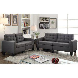 Superb Earsom Configurable Living Room Set By Acme Furniture Top Short Links Chair Design For Home Short Linksinfo