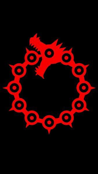 Nanatsu No Taizai Dragon Sin Of Wrath Logo 4k Hd Mobile