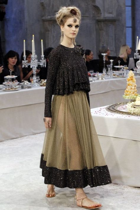 Chanel Paris-Bombay Metiers d'Art show