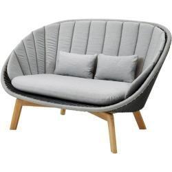 Lounge Furniture Balcony Loungemobel Balkon Two Seater Sofa