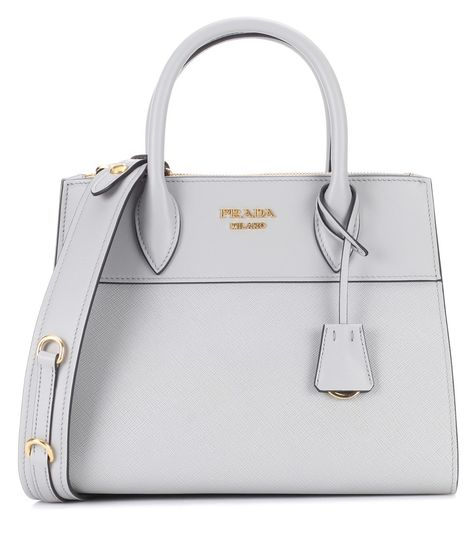 426690f898da20 Prada - Paradigme leather handbag - Opt for a timeless classic with Prada's  Paradigme handbag. Crafted from textured saffiano leather with a smooth  leather ...