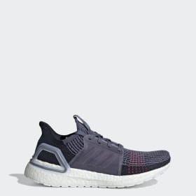 Ultraboost 19 Schuh Blaue Schuhe Adidas Schuhe Frauen Laufschuhe