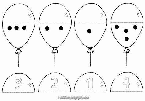 Tellen met ballonnen 1