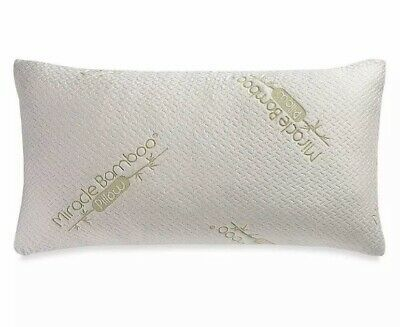 Miracle Bamboo Pillow With Viscose From Bamboo Cover Deluxe King Ebay Bamboo Pillow Pillows Letter Pillows