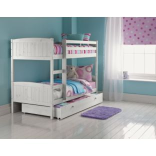 Classic Bunk Bed Frame With Storage Whitewash At Argos Co Uk Your Online For Children S Beds Pinterest Frames