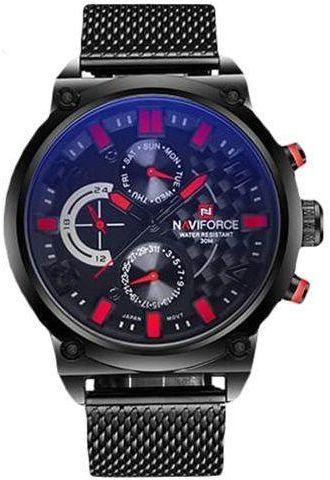 نافي فورس ساعة عملية كاجوال رجال انالوج بعقارب معدن Nf9068 Sr Watches For Men Mens Sport Watches Mens Sport Watches Military