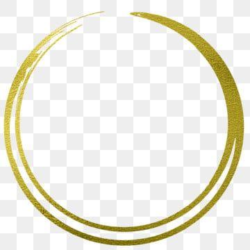 Gold Circle Frame Border Design Border Clipart Gold Glitter Png And Vector With Transparent Background For Free Download Gold Circle Frames Frame Border Design Gold Metal