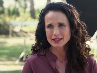 Video Go Behind The Scenes With Andie Macdowell As She Tells Us
