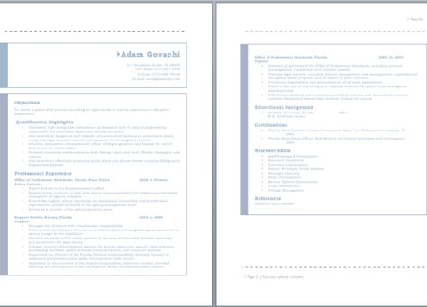 Senior Accounts Officer Resume resume sample Pinterest - police officer resume template