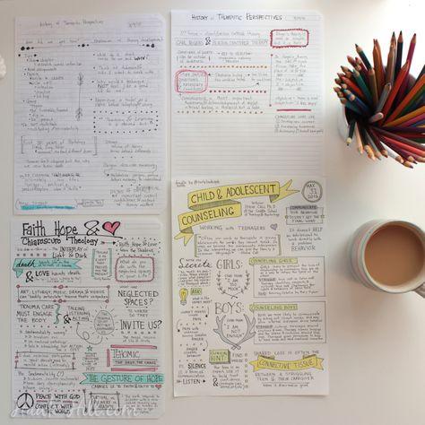 Learn to Bullet Journal & Doodle Note in School