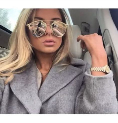 78dfbacad18 Mirrored-Cat-Eye-Sunglasses-Rose-Gold-So-Real-2015-Reflective-Bloggers-New