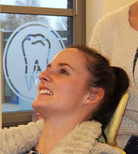 Bij de tandarts #geen #angst #tandarts #blij #kliniek #tandheelkunde #sneek