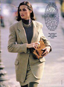 Yasmin Le Bon | editorials | 1990
