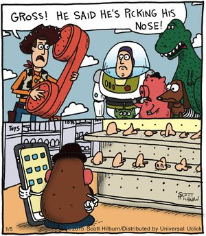 The Argyle Sweater Comic Strip on GoComics.com | Toy Story humor