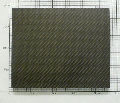19mm Sandwich Carbon Platte Kohlefaser CFK Platte ca. 220mm x 180mm in Modellbau, Werkzeug, Werkstoffe | eBay