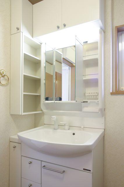 洗面台の最適な寸法の見つけ方 快適な寸法を解説 洗面台 家