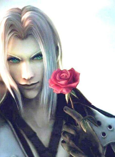 Sephiroth Final Fantasy Vii Garotos Anime Anime E Final