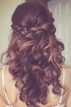 Frisuren mit leichten locken