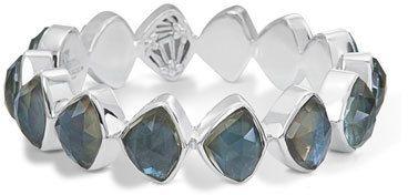 Stephen Dweck Faceted Aqua Quartz & Mother-of-Pearl Doublet Bracelet MwrT6
