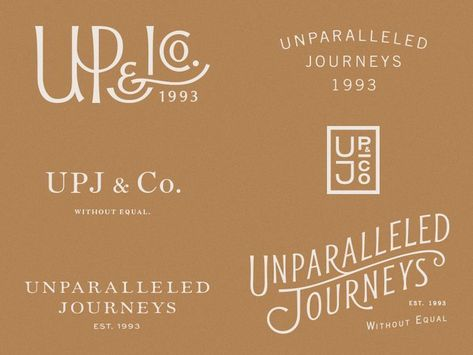 UPJ by Andrew Littmann — Dribbble — logo design, brand identity, branding, strategy, graphic d. Business Branding, Business Design, Logo Branding, 3d Logo, Corporate Design, Corporate Branding, Branding Ideas, Business Cards, Fashion Typography