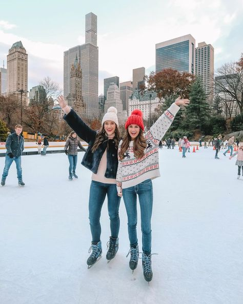 First we'll make snow angels for two hours then we'll go ice skating then we'll eat a whole roll of Tollhouse cookie dough as fast as we Best Friend Pictures, Bff Pictures, Friend Pics, Ice Skating Pictures, Besties, Bestfriends, Tumblr Bff, New York Christmas, Christmas Christmas