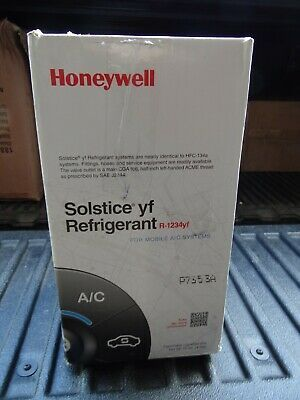 Sponsored Ebay R 1234yf Refrigerant Honeywell Sealed 10 Lb Can Solstice R1234yf Honeywell Ebay Solstice