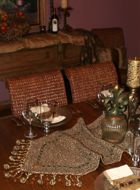 Luxury High End Table Runners by Reilly-Chance Collection