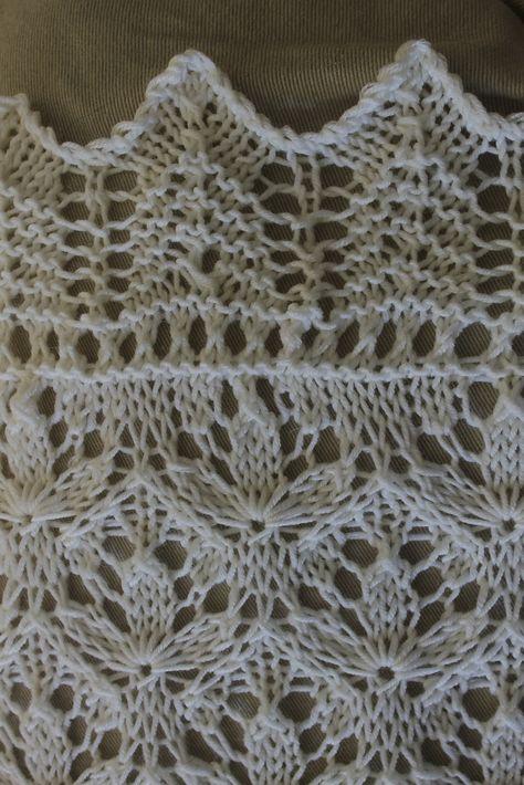 Ravelry: Project Gallery for Starflower Estonian Lace Baby Blanket pattern by Hazel Roots
