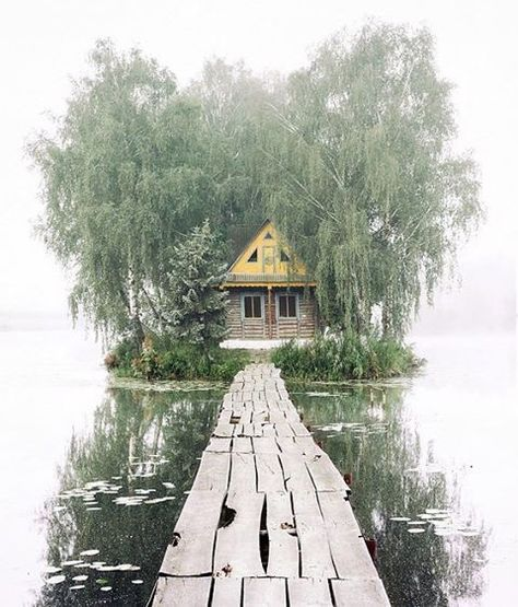 """""""ISLAND OF LOVE """" Summer version Ukraine, Zhytomyr region., Staryi Solotvin village. Island was created artificially in 1970. and was named """"Island of Love"""". House built in the period from 1984 to 1985 and became known as """"fisherman's and hunter's hut """" and was used as a place where exposed trophies. #ukrainegrams#photoukraine#awesome_earthpix #beautifulplanett #wonderful_places #phenomenalshot #minimalart#minimalism #nature_shots#nature_ravens#nature_perfection#rsa_mimimal#ig_ua#beautifulpl..."""