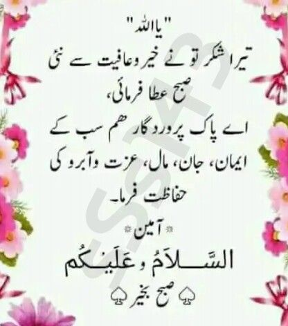 Pin by MD SHOAIB on Du'a دعا   Morning quotes, Morning dua