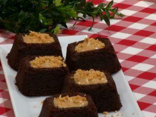 Brownies Con Chocolate Y Maní Receta Receta De Brownies Chocolate Recetas De Comida