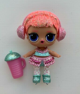 Lol Surprise Doll Bling Series Ice Sk8er Skater Glitter Big Sister Authentic Condition Is Used Listing Is As Pictured Shipped With Usps Lol Dolls Lol Dolls
