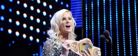 The bit at the end of Alundra Blayze's 2015 WWE Hall of Fame induction where she pulled the old Women's Title belt out of the trash can was said to be the reason WWE asked her to be inducted this…
