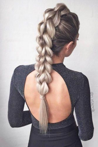Party Hairstyle Ideas Night Party Hairstyle Ideas For A Big Night 2018 U2013 My Stylish Zoo Braids For Long Hair Braided Mohawk Hairstyles Hair Styles