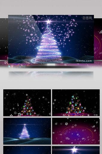 Beautiful Light Effect Particle Christmas Tree Video Mp4 Free Download Pikbest Light Effect Beautiful Lights Christmas Poster