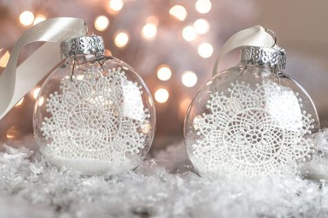 DIY Christmas Ornaments you Can Make Faster than a Melting