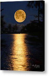 Worm Moon Rising Photograph by Lee Capps Original - Worm Moon Rising Fine Art Prints and Posters for Sale