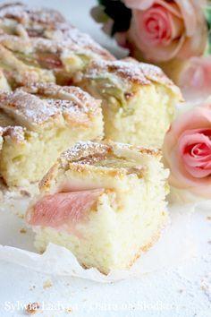 Najlepsze Ciasto Ucierane Z Rabarbarem Cake Recipes Baking Food
