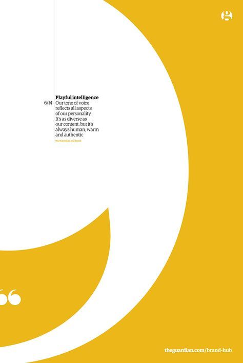 An insight into The Guardian's newly released brand guidelines