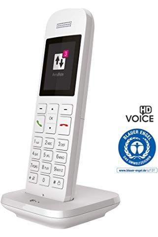Telekom Festnetztelefon Speedphone 12 In Weiss Schnurlos Zur Nutzung An Aktuellen Routern Mit Integrierter Dect C Telefon Schnurloses Telefon Schnurlostelefon