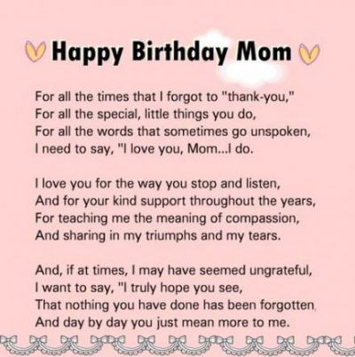 60th Birthday Quotes Funny Mom 45 Ideas For 2020 Happy Birthday Mom Poems Happy Birthday Mom Quotes Mom Birthday Quotes