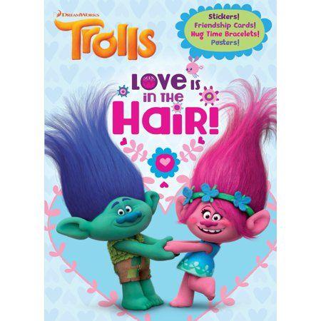 Love Is In The Hair Dreamworks Trolls Walmart Com Dreamworks Trolls Book Activities Dreamworks