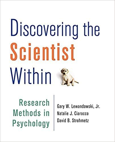 Test bank for Discovering the Scientist Within Research