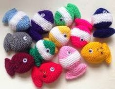 Amigurumi Easy Patterns Free : Free crochet fish pattern just had an idea a music box for