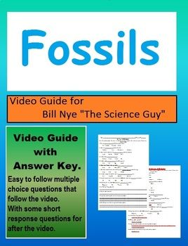 Bill Nye Fossils Worksheet Answer Key - worksheet