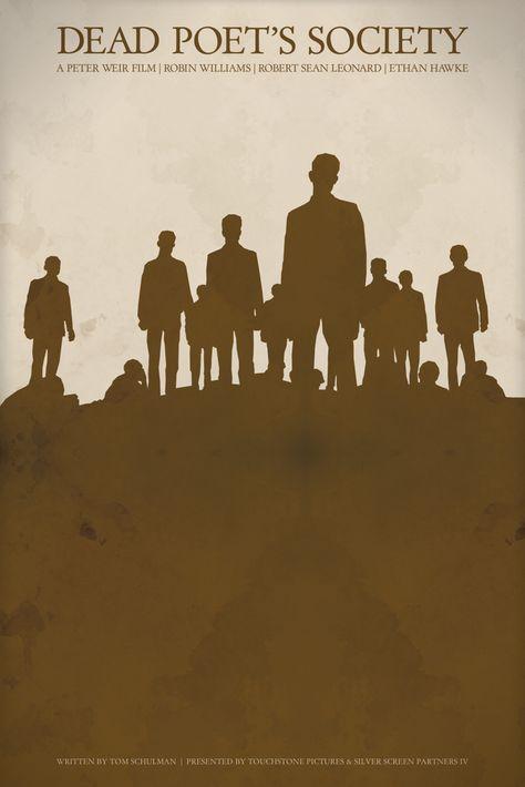 Dead Poet's Society - Alternative Movie Poster Art Print