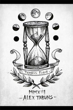 Alex Tabun Tatuagem De Ampulheta Desenhos Para Tatuagem E